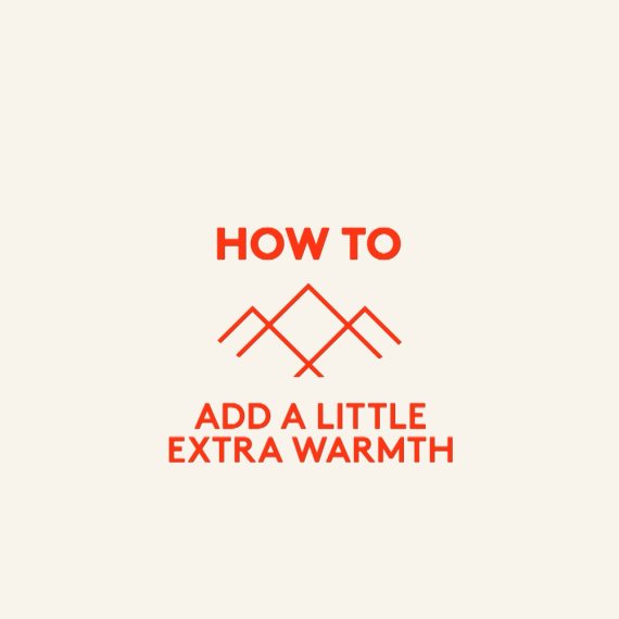How to add a little extra warmth