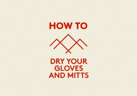 How to dry your gloves and mitts