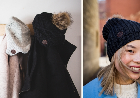 3 ways wearing a toque can keep you fashionable as the temperature drops!