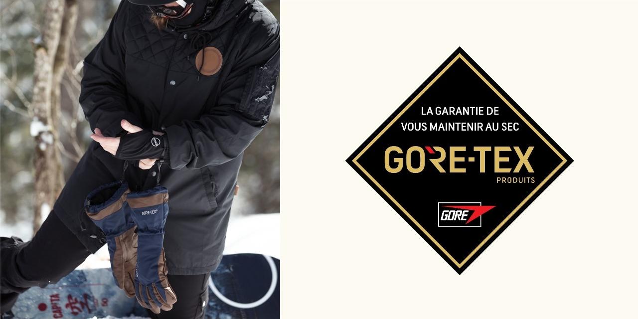 Au chaud, avec les gants GORE-TEX