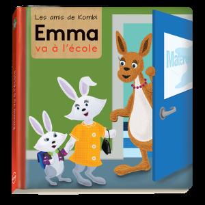 Livres KOMBI Emma va à l'école